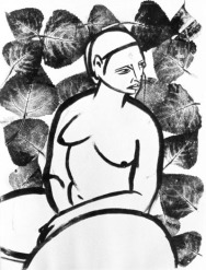 woman-and-leaves-i