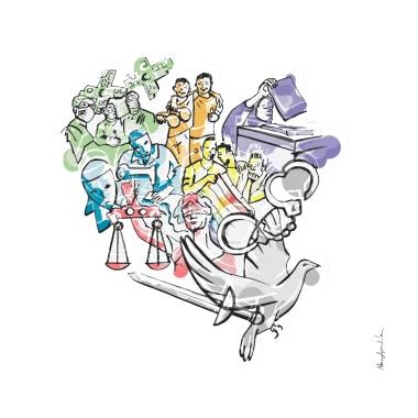 ilustracion-guerreros-de-la-paz